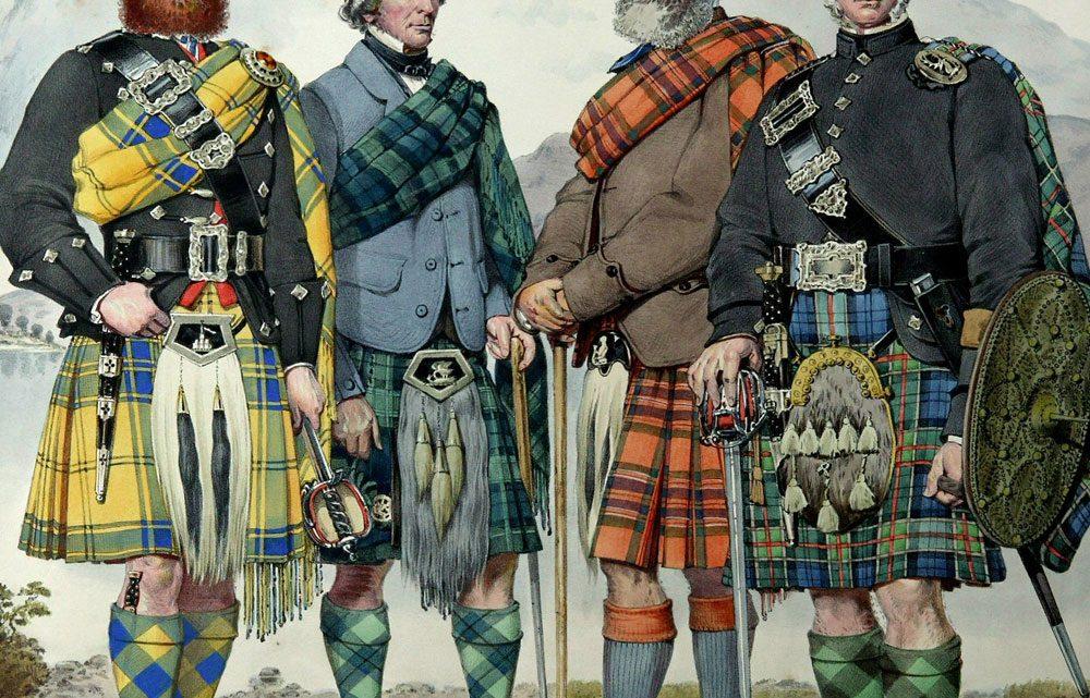 За шотландския килт и под него